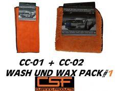 CSF Carpflege-Pack Orange Towel Delirium CC-01 Poliertuch + CC-02 Fluffy Tuch
