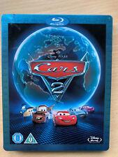 Cars 2 2011 Disney Pixar Animación Película Película Ru Blu-Ray Caja Metálica