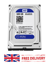 "500GB 7200RPM SATA 3.5"" Desktop HDD Hard Disk Drive - UNTESTED (Z36)"