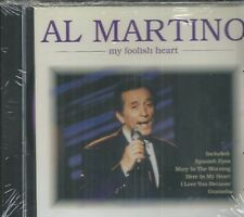 AL MARTINO - My Foolish Heart - CD - BRAND NEW