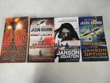 COMPLETE SET Lot (4) ROBERT LUDLUM PAUL GARRISON Books Novels PAUL JANSON SERIES