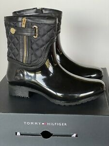 Tommy Hilfiger | Francie Rain Boots | Black | Women's 8 M