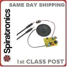 Amplificador De Auriculares Electronics proyecto Kit Mp3 Ipod