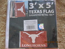 Texas 3' x 5' NCAA Flag with Grommets - Free Shipping