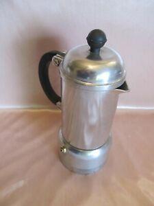 Coffee Maker Italian Aluminum 2 Cups Old BODUM to Depression Mocha