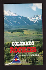 Colorado Rockies 1977-78 Hockey Yearbook NHL Guide Barry Beck Doug Favell