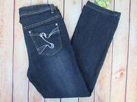 RY Diverso Women's Straight Leg Blue Jeans Size 8 Stretch Dark Wash