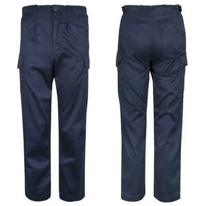 Royal Navy Blue Working Uniform Trousers AWD Flame Resistant Military New + Used