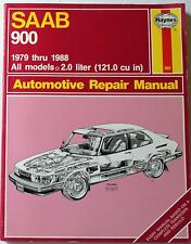 HAYNES SAAB 900 1979 THRU 1988 AUTOMOTIVE REPAIR MANUAL