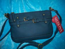 New MERONA Sea Blue Dark Jade Cross Body Bag - SMALL