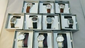 WHOLESALE JOBLOT 10 SPIRIT FASHION WATCHES RRP £180 XMAS GIFTS/BDAY GIFTS