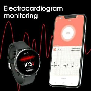 Tactical Smart Watch ECG PPG Heart Rate Oxygen Blood Pressure Sport Steps IP68