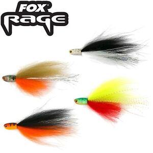 Fox Rage Dropshot Fly 8cm - 2 Angelfliegen, Drop Shot Fliegen, Barschfliegen