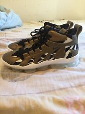 Mens Nike Air Vapormax Gliese Sneakers, Size 12, Metallic Gold/Black