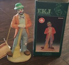 "Emmett Kelly 9900C Figurine ""Cleaning Up"" With Box"