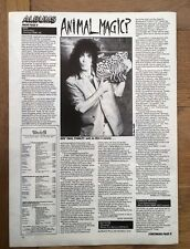 KISS 'Animalize album review' 1984 ARTICLE / clipping