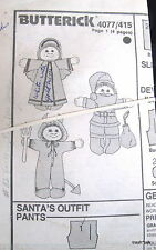 Cabbage Patch doll clothes pattern  Christmas Santa Costume Angel Devil
