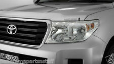 Toyota Landcruiser Head Light Covers LC200  GX GXL GENUINE NEW