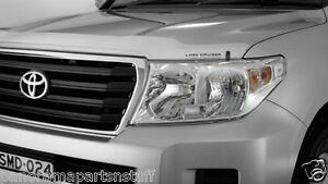 Toyota Landcruiser Head Light Covers LC200  GX GXL GENUINE NEW