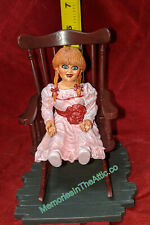 Annabelle Movie PVC Diorama Rocking Chair Doll Horror The Conjuring Diamond Toys