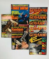 Guns & Ammo Combat Shooting, Handguns, Handgun Shootout Action Series Lot of 8