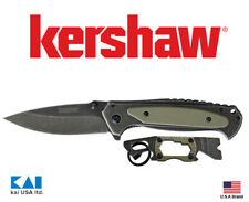 Kershaw Knives 6171PDQX PT2-Pack OD Green Folding Knife Keychain Multi Tools