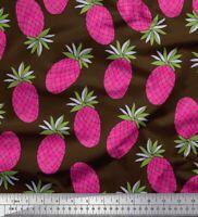 Soimoi Stoff Ananas Obst Stoff Meterware - FT-16D