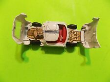 Dinky RACING CAR Toys Car Ford GT England Meccano LTD White Red #7 FREE SHIP