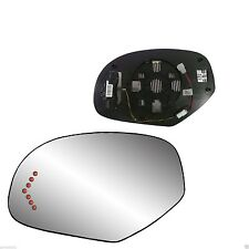 New LH LED Signal Mirror Heated GLASS w/Back FOR 2007-2013 Cadillac Escalade