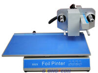 New 250mmx57mm Flatbed Hot Foil Printer Stamping Machine PVC,Cover Printing