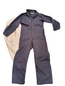 New without Tags Red Kap Men's Long Sleeve Coveralls, Gray 40 RG Auto-Mechanic