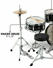 """BRAND NEW! LUDWIG JUNIOR JR 12"""" SNARE DRUM + STAND for YOUR CHILDS DRUM SET Z373"""