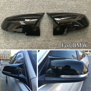 Rearview Side Mirror Cover Caps For BMW F20 F21 F22 F30 F32 F33 F36 X1 E84 F87