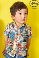 Next Baby Boys Disney Mickey Mouse Print Shirt Size 3-6,6-9,9-12 months