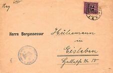 Dienstmarken aus dem deutschen Reich mit Einzelfrankatur-Erhaltungszustand