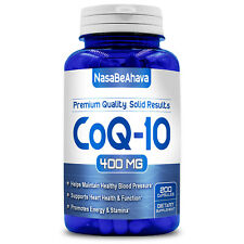 FRESH BRAND NEW - Pure CoQ10 400mg Coenzyme Q-10 Heart Antioxidant 200 Caps  -