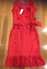Studibaker Sydney Dress Red Party Formal Race New Bnwt Rrp$360 Pull5 5% Off