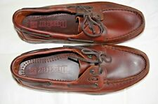 Dexter Navigator II Mens Brown Leather Handsewn Boat Comfort Shoe 8.5 2W P619-26