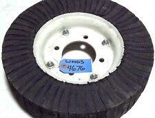 "Woods 4 x 15 Rim & Laminated Tire W4676 9"" Rim 15"" Diam Wheel 4 bolt pattern"