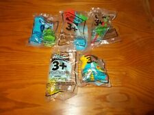 KFC Slimamander Lot of 5 Toys, 1997, New (A01)