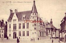 FRANCE. NEVERS - CAISSE d'EPARGNE ET RUE LAFAYETTE 1923