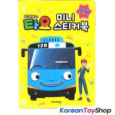 Little Bus Tayo Mini Sticker Book V.1 / 15 Sheets 208 pcs Stickers Made in Korea