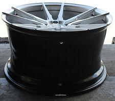 "20"" Kronos KW5 Wheels For Porsche 996 997 991 C2 981 Cayman Silver Rims Set (4)"