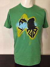 New Star Trek 2009 Promo Only Mr Spock Vulcan T-Shirt Xs Green American Apparel