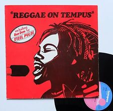 """Vinyle 33T Various  """"Reggae on tempus"""""""