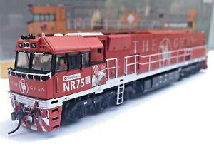 Auscision UGL NR Class Loco NR75 Ghan 'STEVE IRWIN'