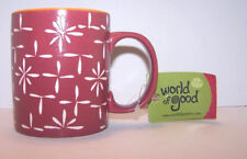 Cup Wax Poetic World of Good, Inc. Ceramic Made in Vietnam