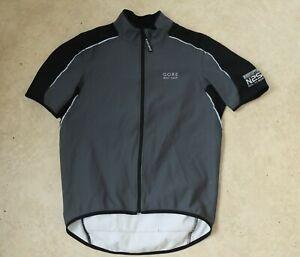 Gore Bike Wear Windstopper Mens Cycling Jacket Jersey Size L