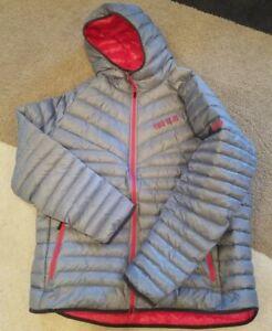 Nike Ohio State Buckeyes Team Issued Gray Travel Jacket ~ Hood Full Zip ~ 3XL