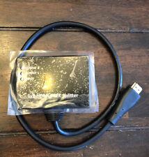 New listing Mp Blackbird 4K 1x2 Hdmi Pigtail Splitter